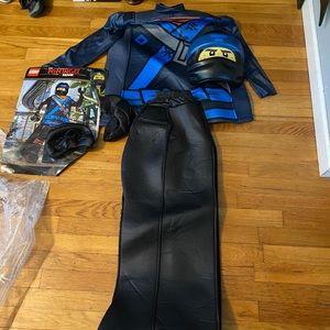 Blue ninjago costume. Size Large 10-12. Used once